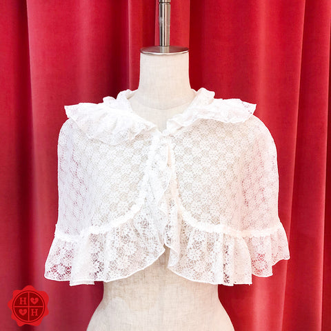 Flower Lace Cape