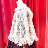 Lace Cape - Ivory