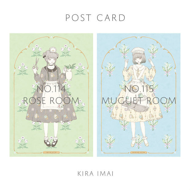 Imai Kira Post Cards: No. 114 - 115.