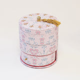 Rose Garden Circle Type Jewelry Box