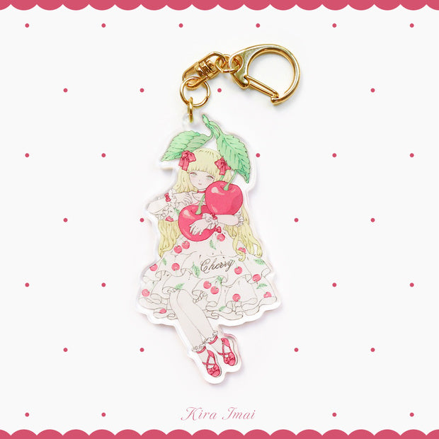 Key Chain - Cherry Girl