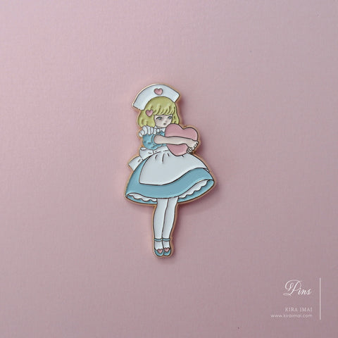 Heart Holic (A) Pin Badge
