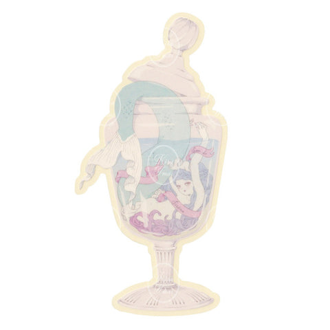 Mermaid Jar - Sticker