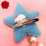 Moon/Star Hair Clip & Pin