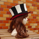 Stripe Silk Hat