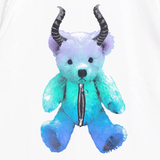 Devil Bear T-Shirt - White