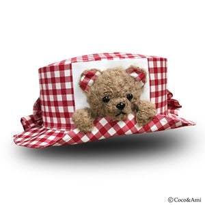 Bear Hat - Red