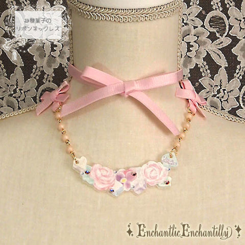 Spring time necklace - Pink