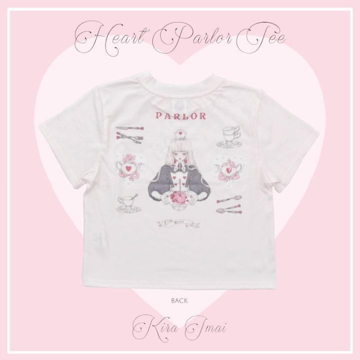 Heart Parlor Cropped Top