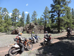 NMOHVA Members out riding dirt bikes