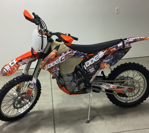 Pictures of Nate's KTM