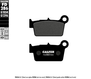 Kawasaki Rear Brake Pads