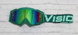 Green/Teal Flow Vision Goggles