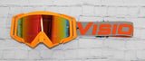 Orange/Grey Goggles by Flow Vision