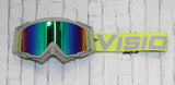 Green/Grey Flow Vision Company Goggles