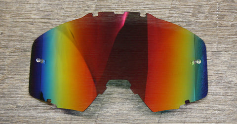 Red mirrored FlowVision Goggle Lens