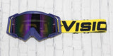 Yellow/Royal Flow Goggle Colorway
