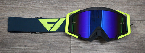 Flow Vision Goggles Aqua/Flo Color