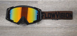 Brown/Black FlowVision Goggle Colorway