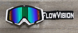 Black White FlowVision Goggle Colorway
