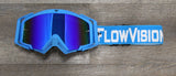 Blue and White Flow Goggle