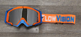 Orange/Blue Rythem MX Goggle