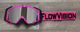 Flow Pink and Black Goggle
