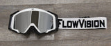 White and Black FlowVision Goggle Colorway