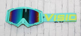 Tiffany/Acid Green Flow Goggles Colorway