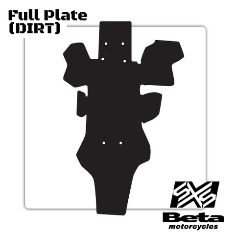 Beta Motorcycles Full Slideplate