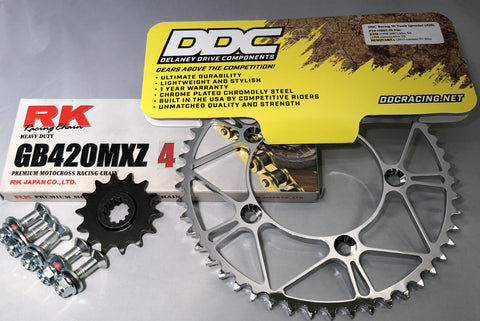 DDC Racing KTM 65 Sprocket and chain combo kit