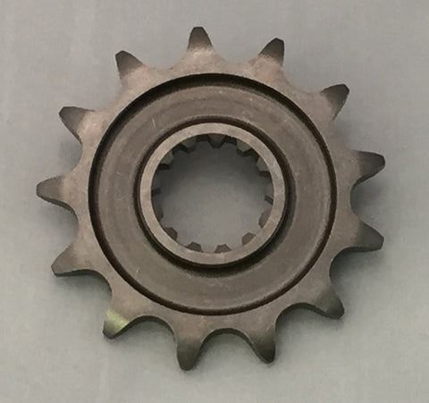 Kawaskai front sprocket for KXF450 and KX250 motorcycles
