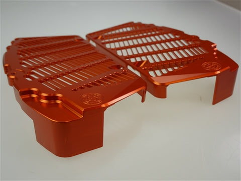 Orange Bullet Proof Desings Radiator Guards