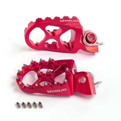 Honda Red Anodized Mojo Pegs