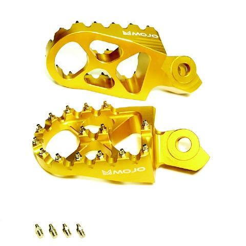 Suzuki Yellow Mojo Foot Pegs