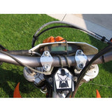 how to attach the tow line to your bars