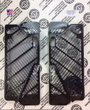 Black Anodized Radiator Guards by Bullet Proof Desings