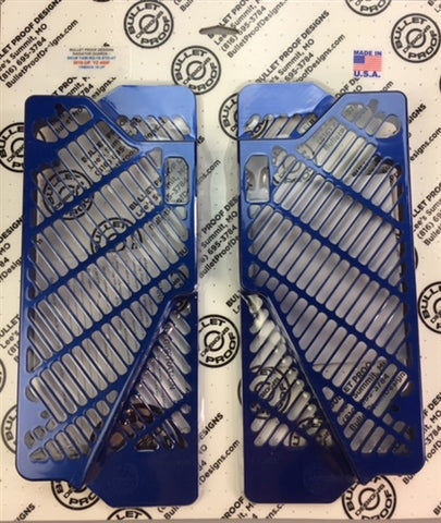 Yamaha Radiator Gaurds by Bullet Proof Designs