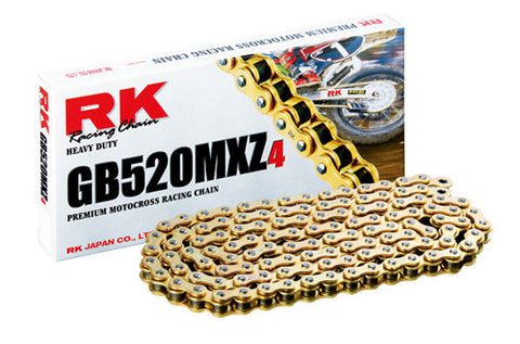 RK MXZ4 Non O-Ring Gold Chain