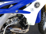 Cooling fan on Yamaha dirt bike