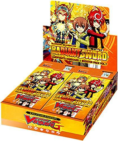 VG-G-BT07 Cardfight Vanguard Booster Box | Glorious Bravery of Radiant Sword
