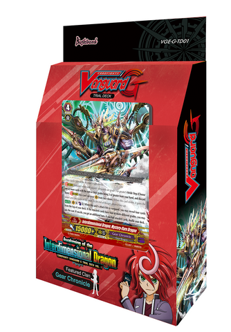 VG-G-TD01 Cardfight Vanguard Trial Deck | Awakening of the Interdimensional Dragon