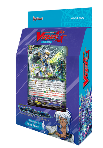 VG-G-TD04 Cardfight Vanguard Trial Deck | Blue Cavalry of the Divine Marine Spirits