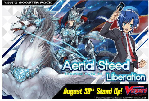 VG-V-BT05 Cardfight Vanguard Booster Box | Aerial Steed Liberation