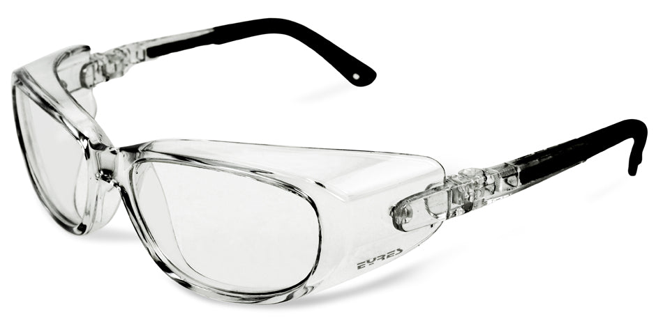 Prescription Safety Glasses - Exposed Lenses | Eyres Clearview 320