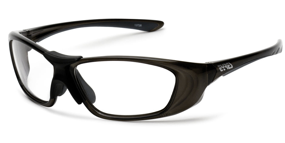 Prescription Safety Glasses - Exposed Lenses | Eyres Razor 708
