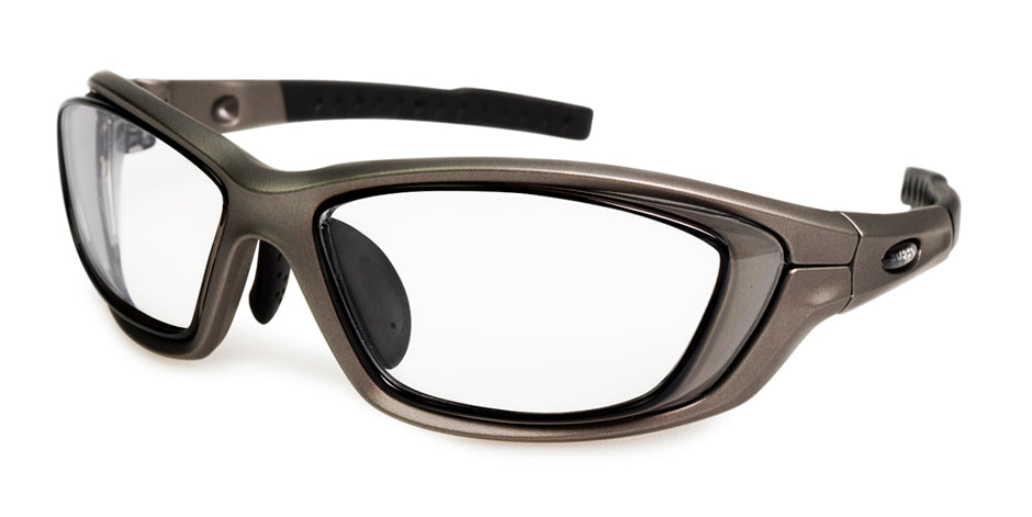 Prescription Safety Glasses - Exposed Lenses | Eyres Transformer 802