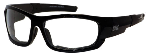 Prescription Safety Glasses - Exposed Lenses | IOAC Jesse 601