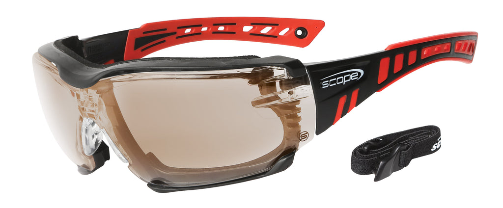 .Safety Eye Wear - Optional Rx Adapter & Positive Seal | Speed Pro