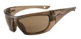 Safety Fashion Sunglasses - Petrol frames with Smokey Gray Lenses